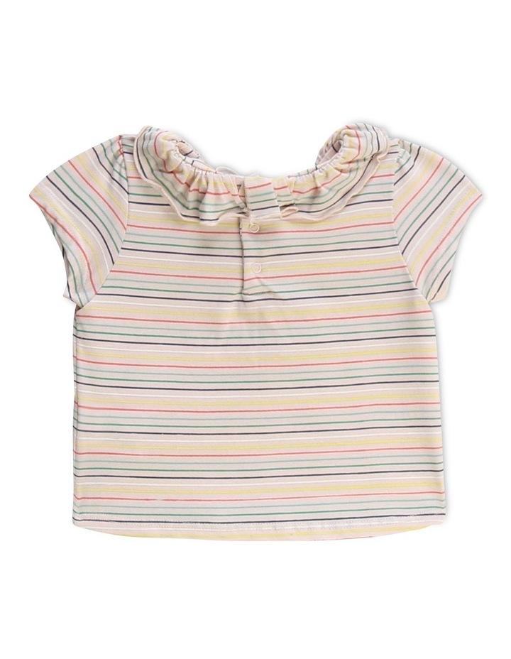 Striped Cotton Modal T-Shirt image 2