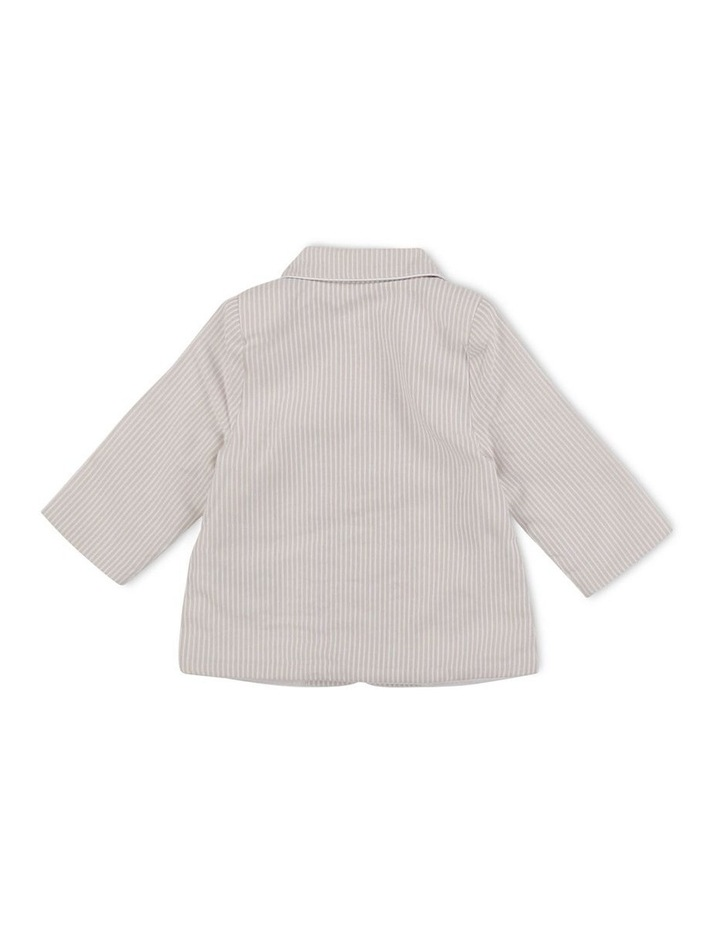 Striped Cotton Formal Jacket image 2