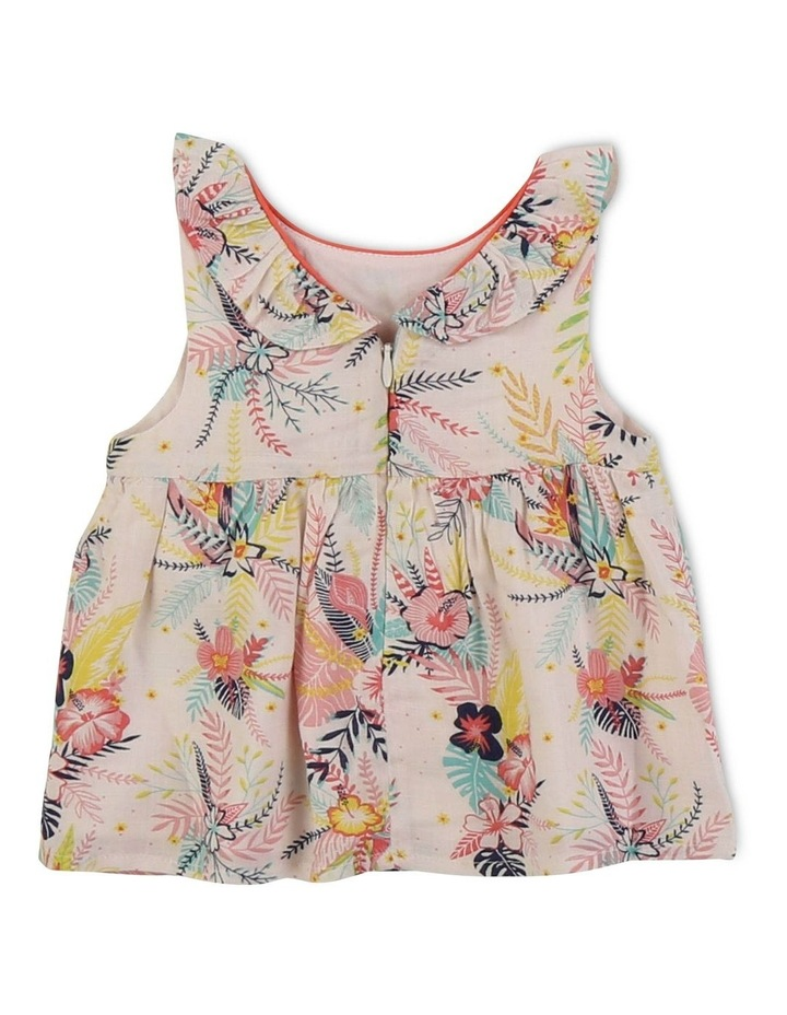 Blouse With Tropical Pattern image 2