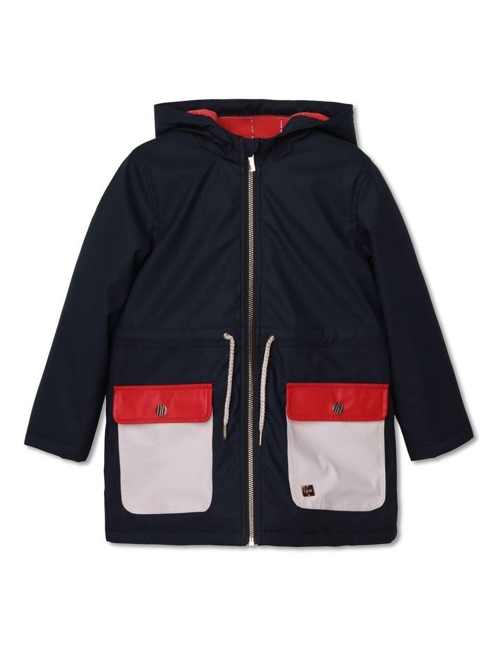 Carrement Beau Hooded Rain Coat image 1