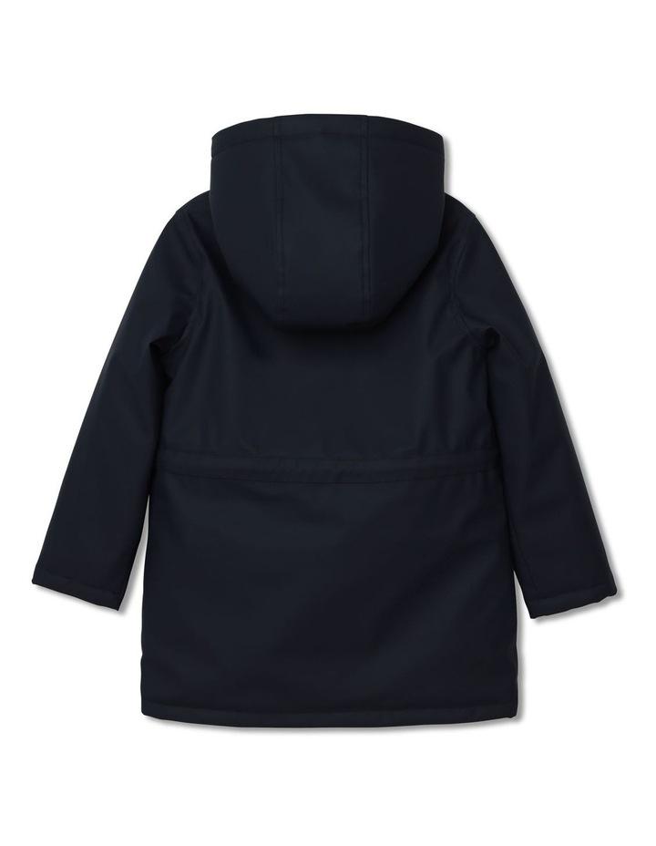 Carrement Beau Hooded Rain Coat image 2