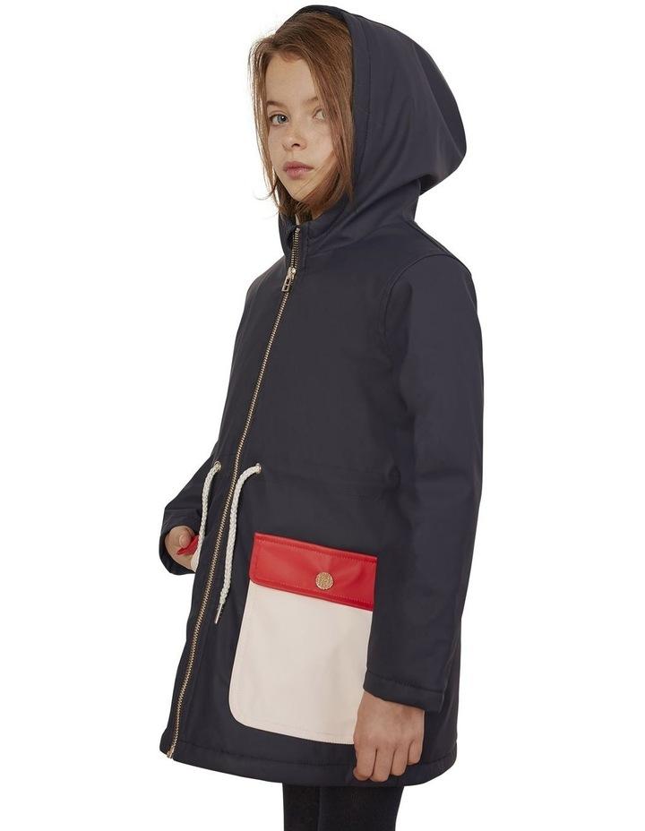 Carrement Beau Hooded Rain Coat image 3