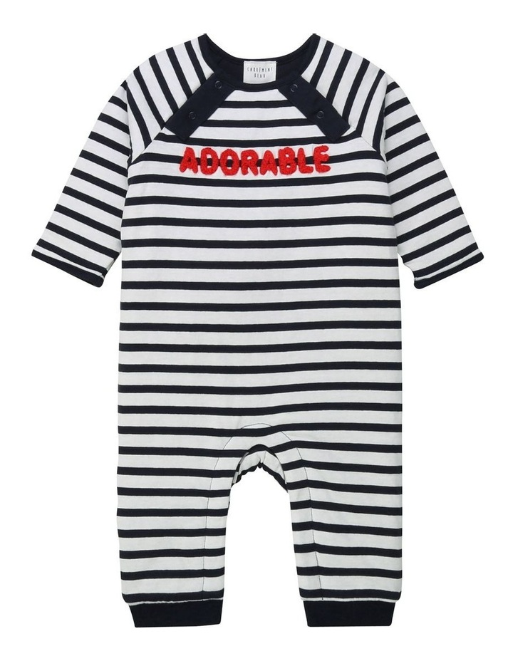 Carrement Beau Cotton Jersey Overalls image 1