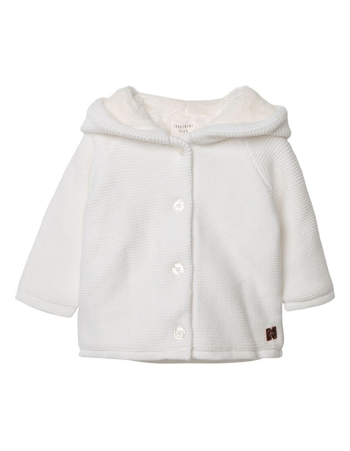 Carrement Beau Knitted Hooded Coat image 1