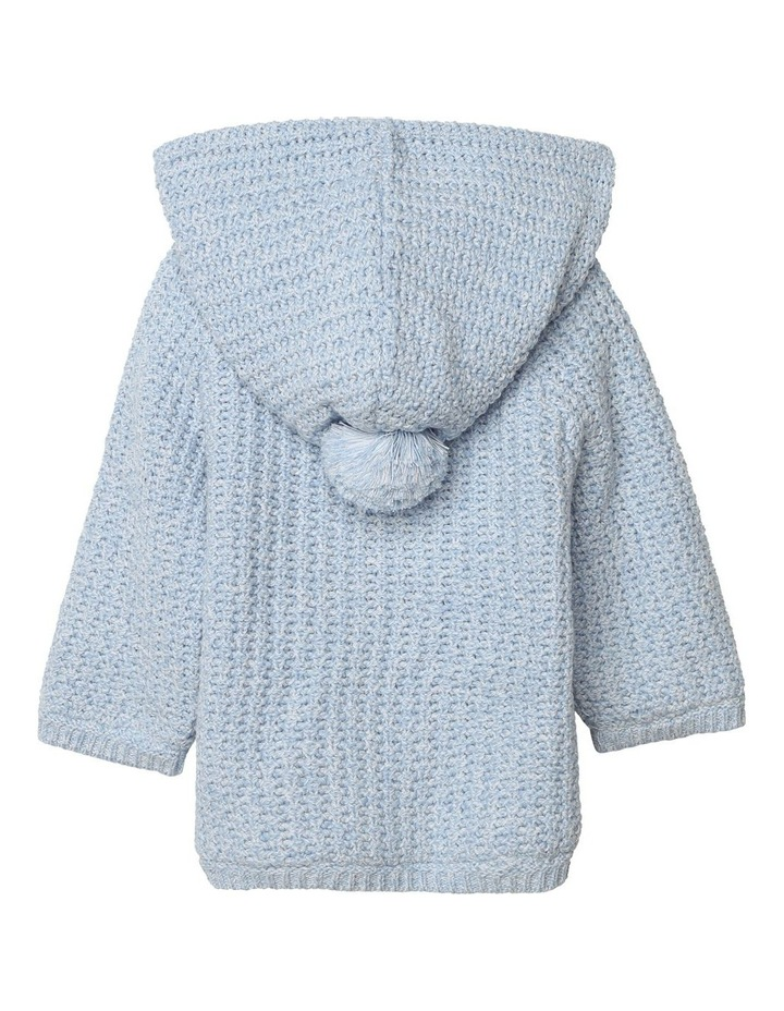 Carrement Beau Knitted Hooded Coat image 2