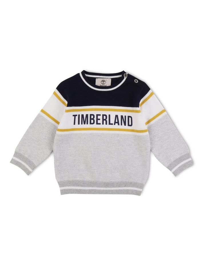 Striped Knitted Jumper image 1