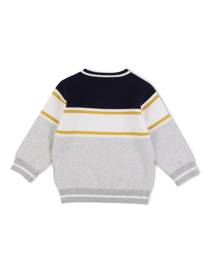 Striped Knitted Jumper image 2