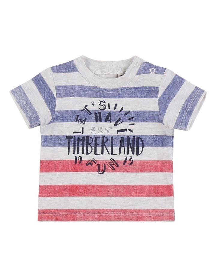 Striped Cotton Jersey T-Shirt image 1