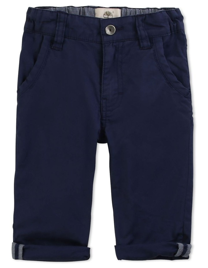 Plain Cotton Twill Trousers image 1