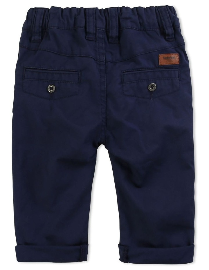 Plain Cotton Twill Trousers image 2