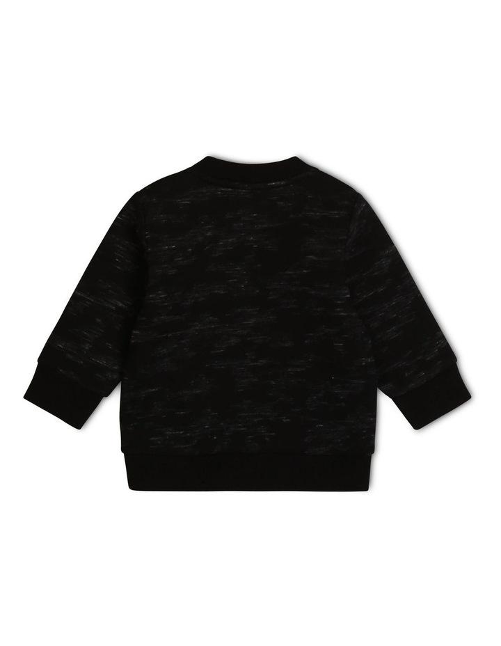 Timberland-Camo Printed  Fleece Sweatshirt image 2