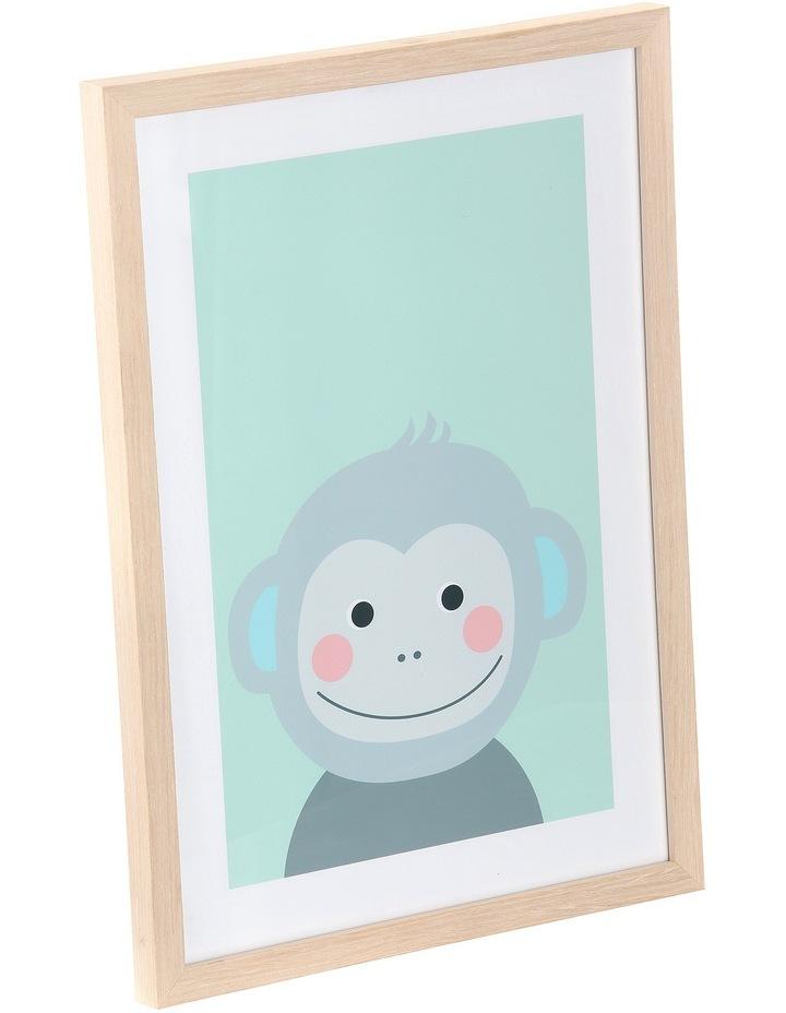 Framed Art Animal Faces - Monkey image 2