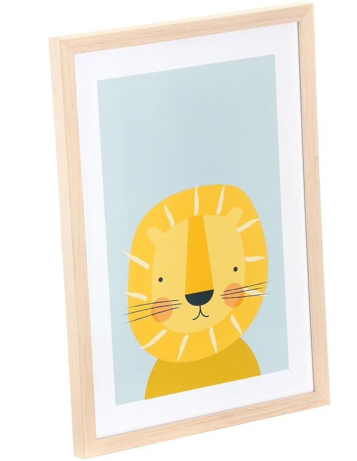 Framed Art Animal Faces -Lion image 2