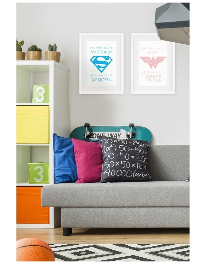 Personalised Framed Art DC-SomePeo Superman image 3