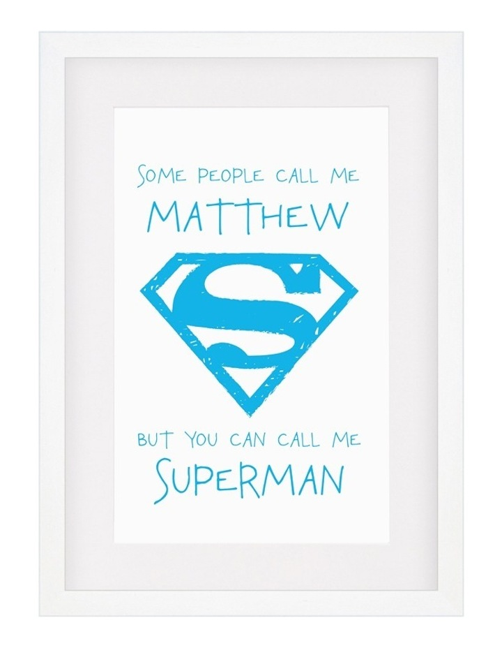 Personalised Framed Art DC-SomePeo Superman image 4