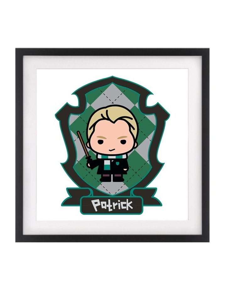Personalised Framed Art HP-Malfoy image 1