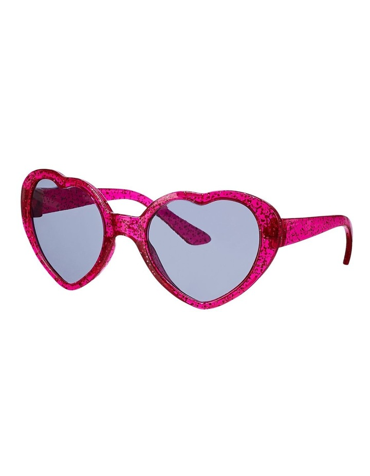 Pink Heart Sunglasses image 1