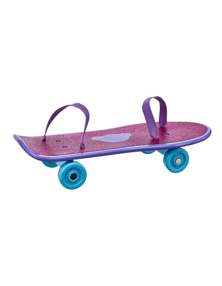 Fuchsia Glitter Skateboard image 1