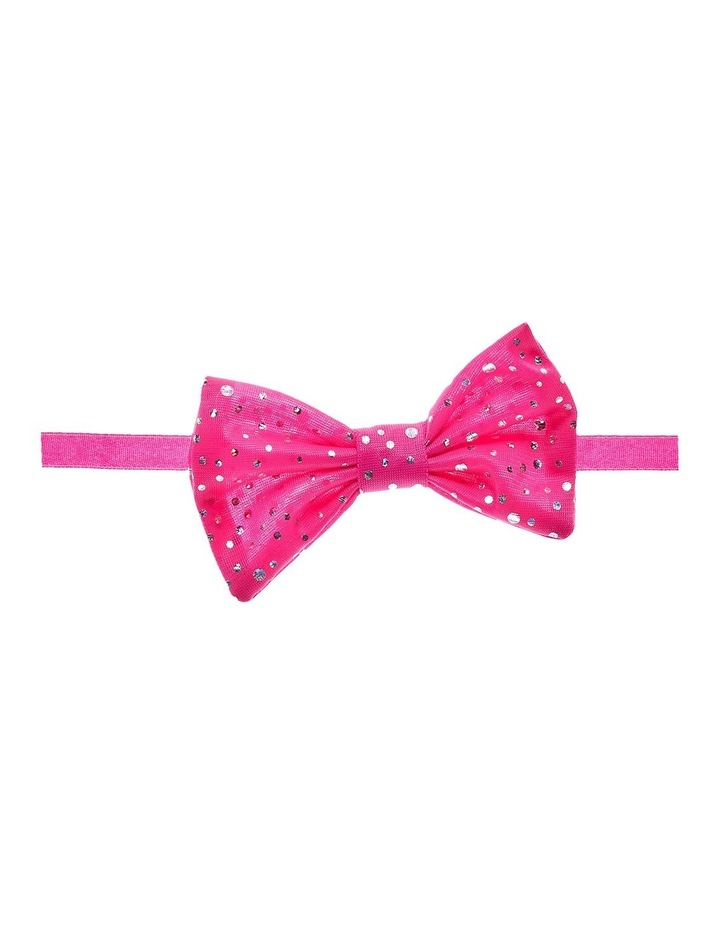 Pink Sparkle Bow image 1