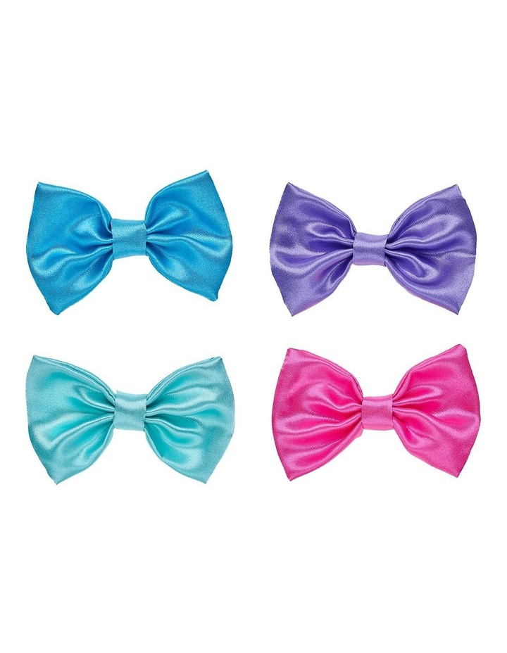 4 Pack Rainbow Bows image 1