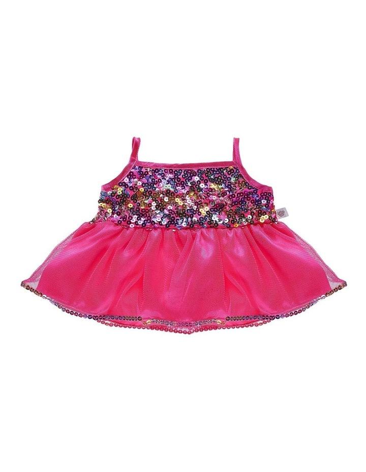 Pink Rainbow Sequin Dress image 1