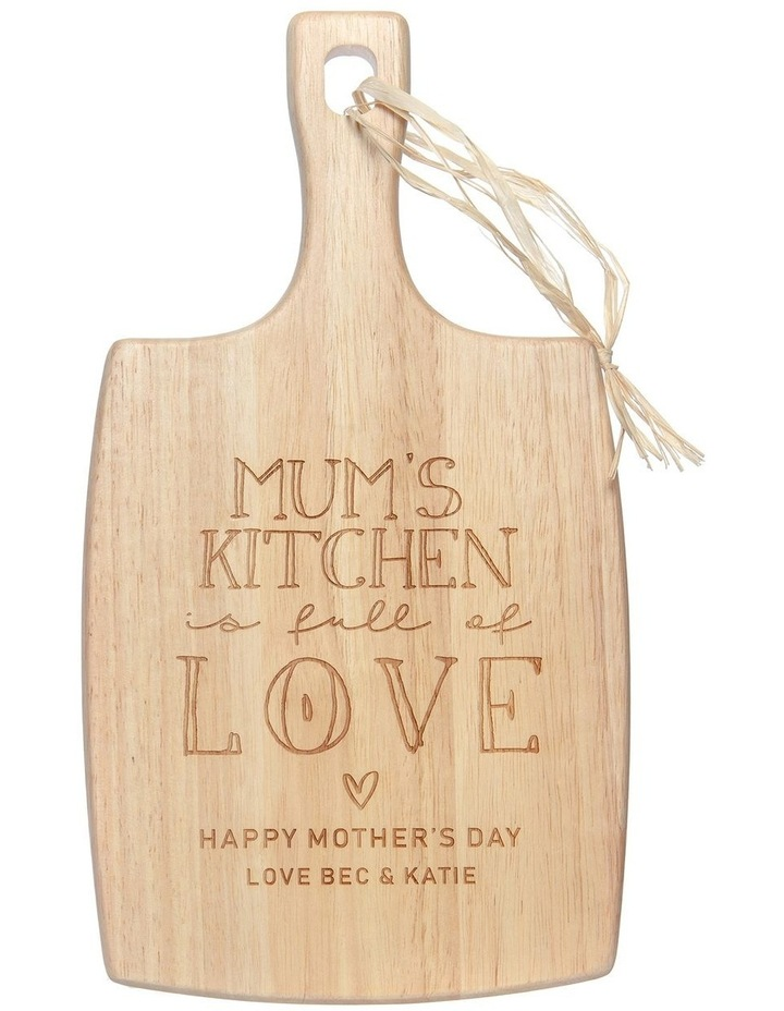 Engraved Cheese Board - Mum's Kitchen image 1