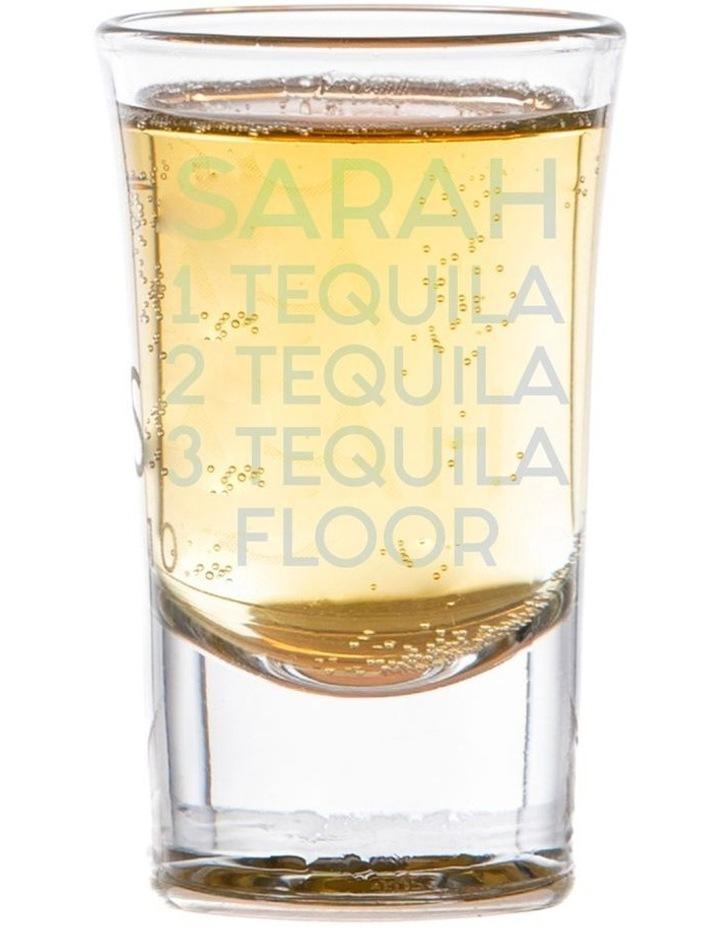 Engraved Shot Glass Set of 6 - Tequila/Floor image 1