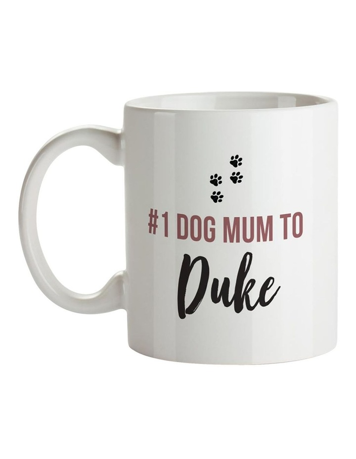 No.1 Dog Mum Ceramic Mug image 1