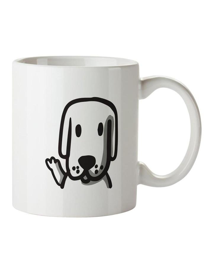 No.1 Dog Mum Ceramic Mug image 2