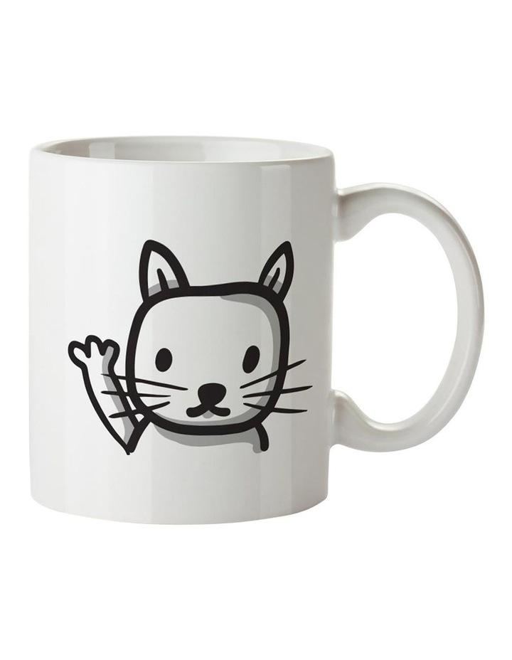 No.1 Cat Dad Ceramic Mug image 2