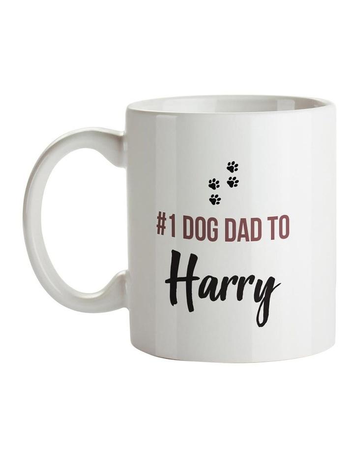 No.1 Dog Dad Ceramic Mug image 1