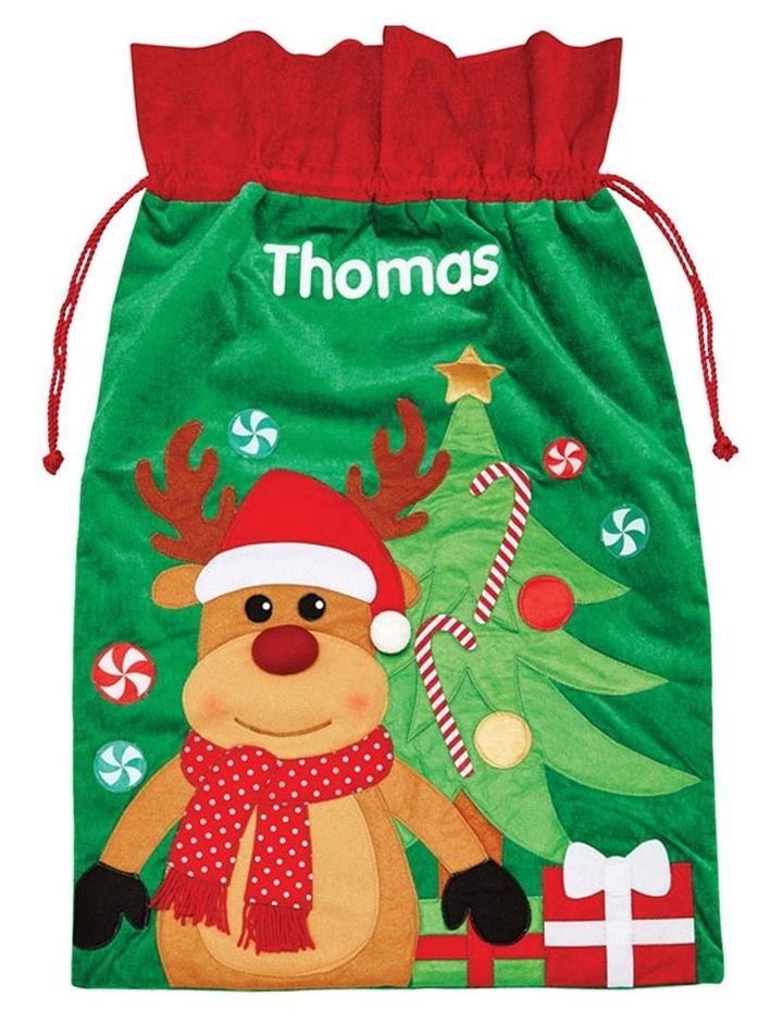 Personalised Reindeer Sack image 1