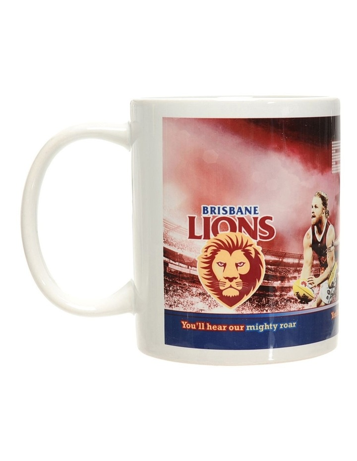Personalised Brisbane Lions Ceramic Mug image 1