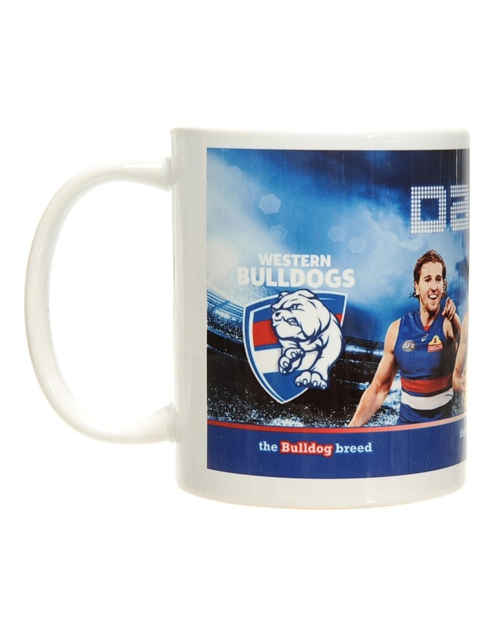 Personalised Western Bulldogs Ceramic Mug image 1