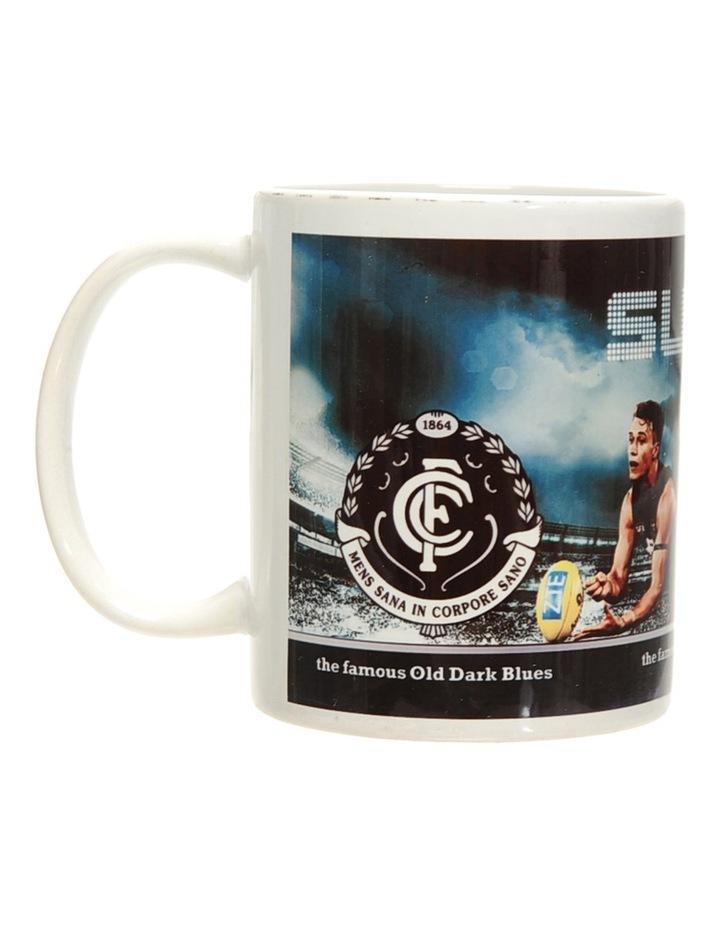 Personalised Carlton Blues Ceramic Mug image 1