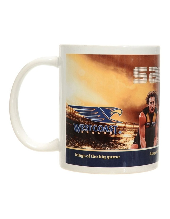 Personalised West Coast Eagles Ceramic Mug image 1