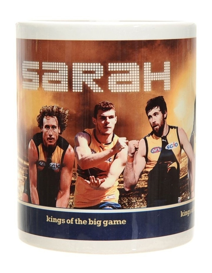 Personalised West Coast Eagles Ceramic Mug image 2