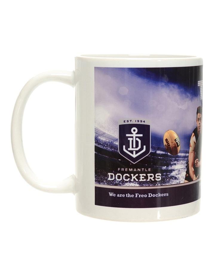 Personalised Fremantle Dockers Ceramic Mug image 1