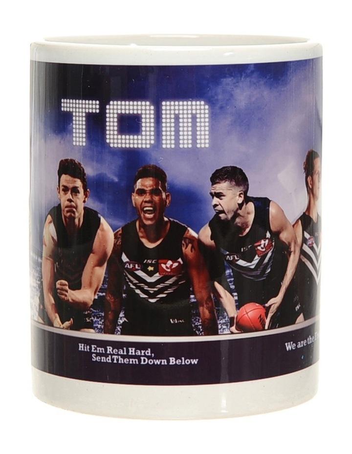 Personalised Fremantle Dockers Ceramic Mug image 2