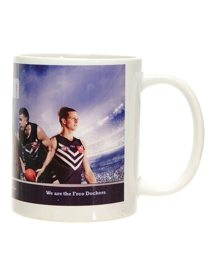 Personalised Fremantle Dockers Ceramic Mug image 3