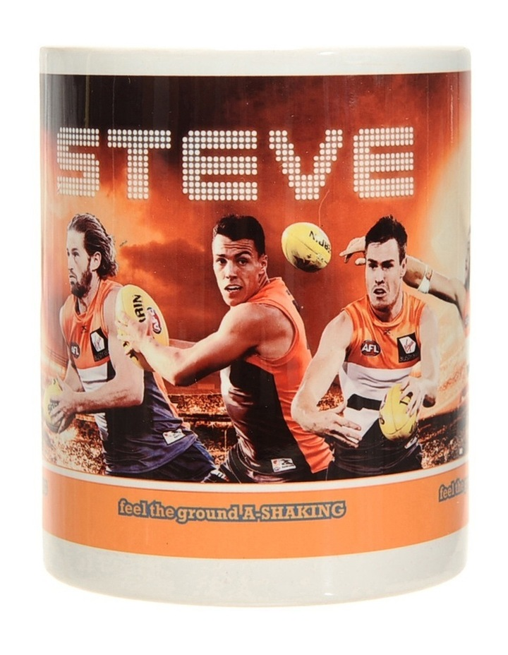 Personalised GWS Giants Ceramic Mug image 2