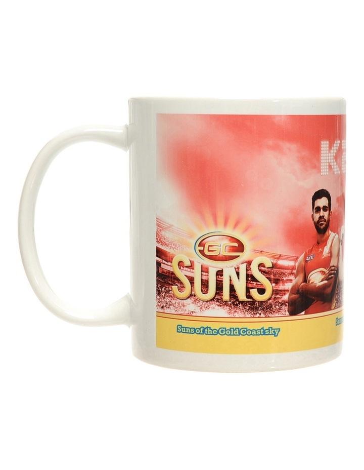 Personalised Gold Coast Suns Ceramic Mug image 1