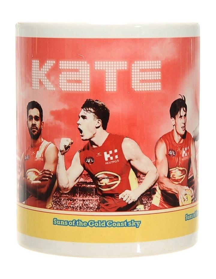 Personalised Gold Coast Suns Ceramic Mug image 2