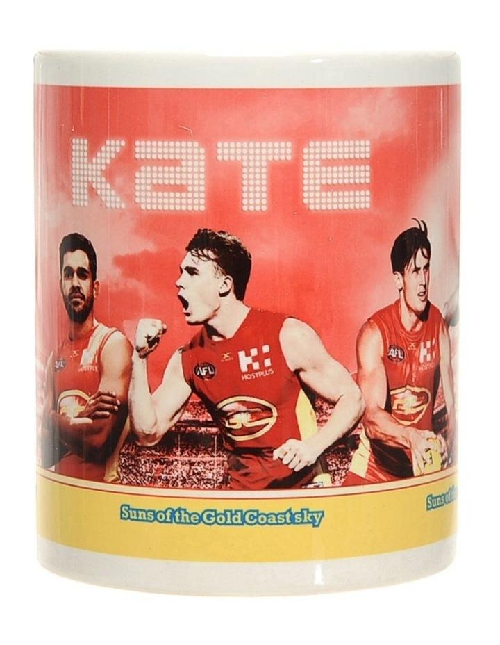 Personalised Gold Coast Suns Ceramic Mug image 4