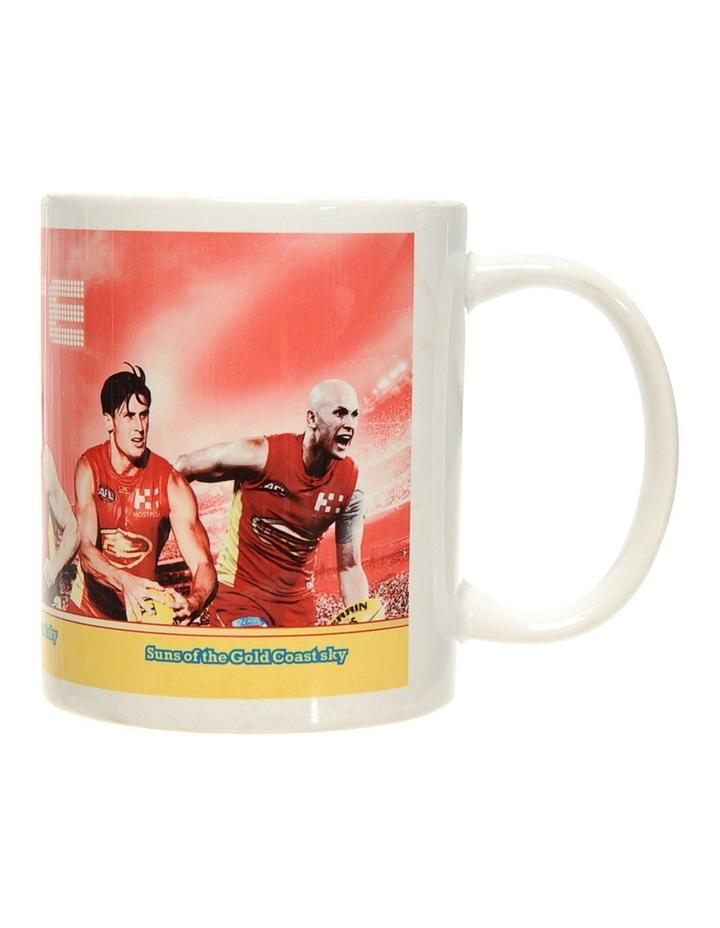 Personalised Gold Coast Suns Ceramic Mug image 6