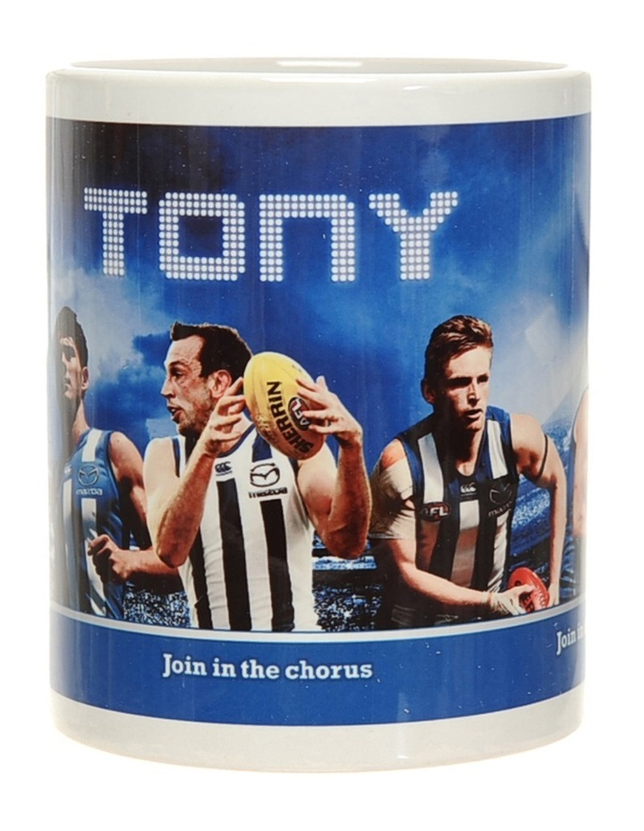Personalised North Melbourne Ceramic Mug image 2