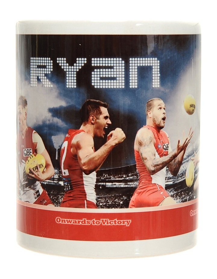 Personalised Sydney Swans Ceramic Mug image 2