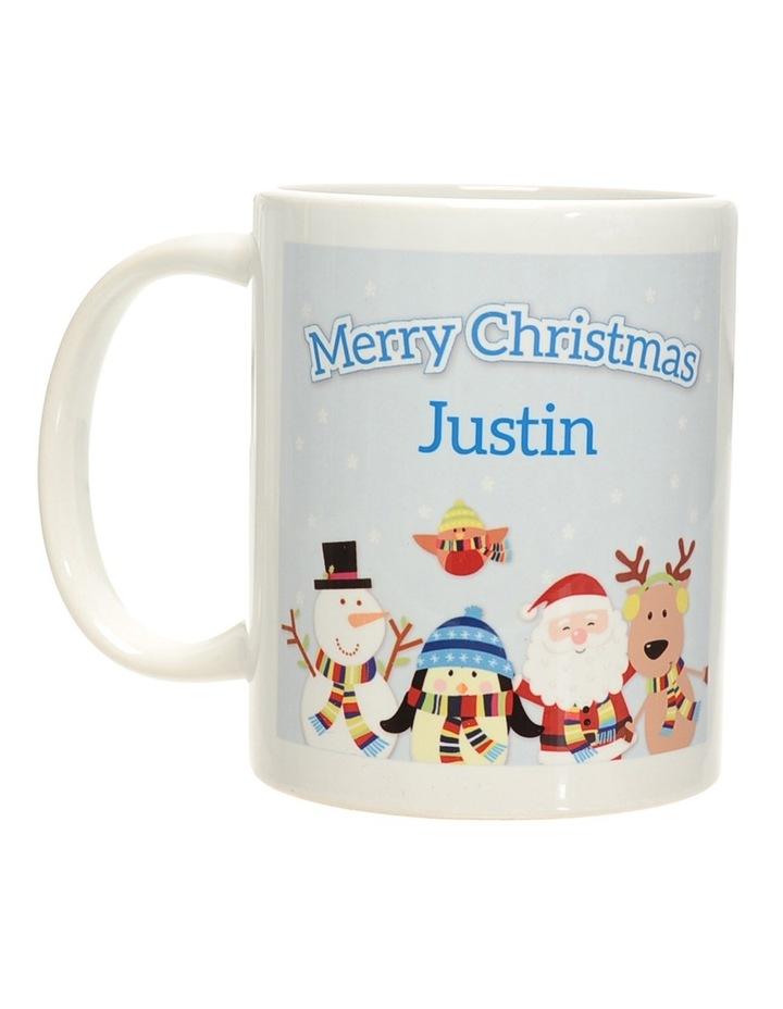 Christmas Friends Christmas Ceramic Mug image 1