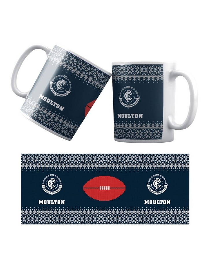 Personalised AFL Carlton Football Club Seasons Ceramic Mug image 1