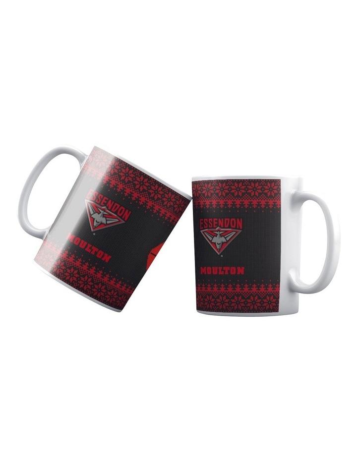Personalised AFL Essendon Football Club Ceramic Mug image 1